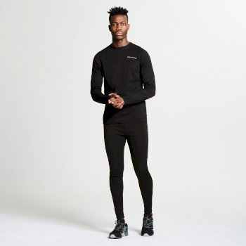 Dare2b Men's Insulate Base Layer Set Black