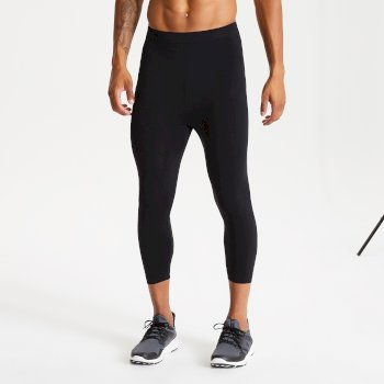 Dare 2b Men's In The Zone Base Layer 3/4 Leggings - Black