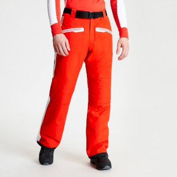 Charge Out Black Label - Herren Skihose Fiery Red