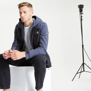 Jenson Button Kollektion - Diluent III Wasserdichte Jacke Für Herren Schwarz