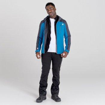 Jenson Button Kollektion - Diluent III Wasserdichte Jacke Für Herren Blau