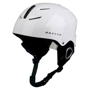 Scudo Junior Ski-Helm Weiß