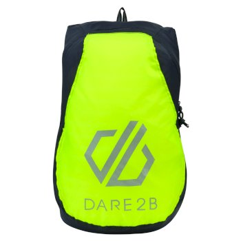 Dare 2b Silicon III Rucksack - Ebony Grey Fluro Yellow