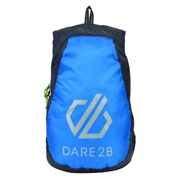 Dare 2b Silicon III Rucksack - Ebony Grey Atlantic Blue