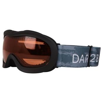 Velose II Skibrille für Kinder Schwarz