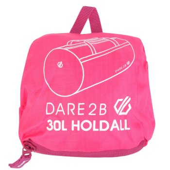 30L Packable Holdall Rosa