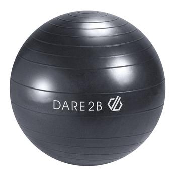 Fitnessball 55 cm Grau