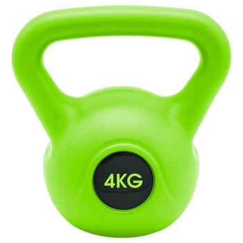 Kettlebell 4 kg Grün