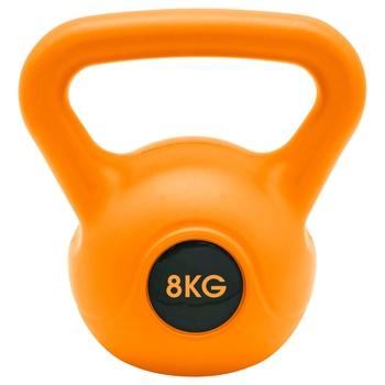 Kettlebell 8 kg Orange