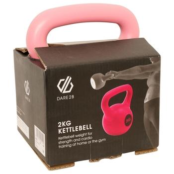 Kettlebell 2 kg Rosa