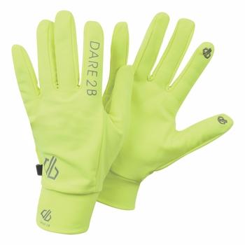Cogent Stretch-Handschuhe Fluro Yellow