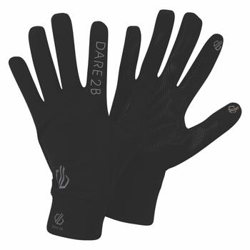 Cogent Stretch-Handschuhe Schwarz