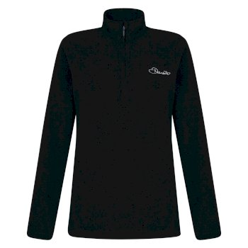 Dare2b Women's Freeze Dry II Half-Zip Fleece Black