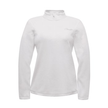 Dare2b Women's Freeze Dry II Half-Zip Fleece White