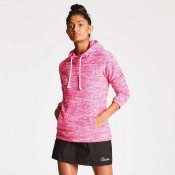 Women's Mantilla Fleece Cyber Pink