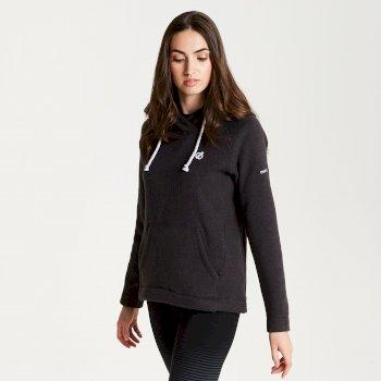Realise - Damen Fleece-Oberteil mit Kapuze Charcoal Grey