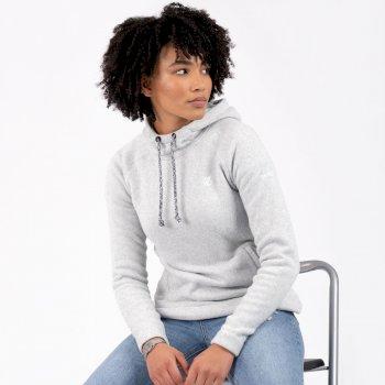 Initiative Kapuzenfleece Für Damen Grau