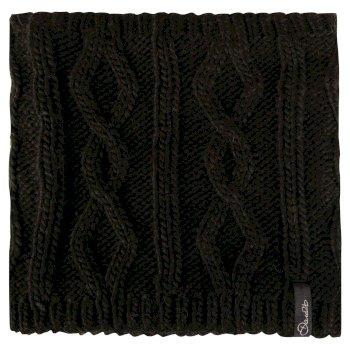 Dare2b Women's Chill Shield Cable Knit Neck Warmer Black