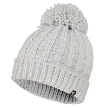 Dare2b Women's Convoke Bobble Hat - Argent Grey