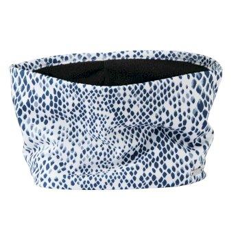 Energetic leichte, bedruckte Maske mit Halswärmer für Damen Blau