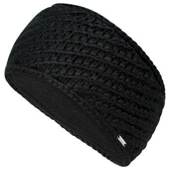 Dare 2b Women's Persona II Fleece Lined Knit Headband - Black