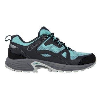 Women's Cohesion Low Waterproof Hiking Shoes Ebony/Aruba