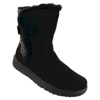 Dare2b Women's Morzine Snow Boots Black
