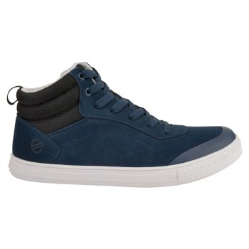 Cylo - Damen High Top-Sneaker - Veloursleder Blue Wing