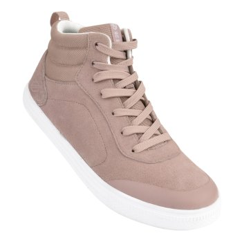 Cylo - Damen High Top-Sneaker - Veloursleder Mink Pink