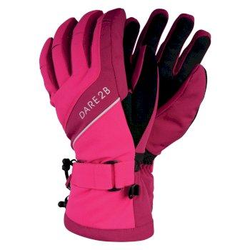 Merit - Damen Stretchhandschuhe Cyber Pink Fuchsia