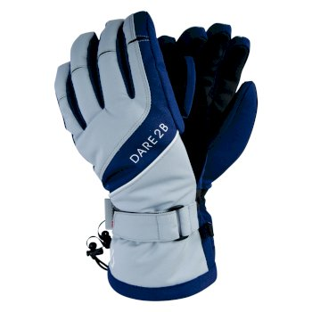 Merit - Damen Stretchhandschuhe Blue Wing Argent Grey