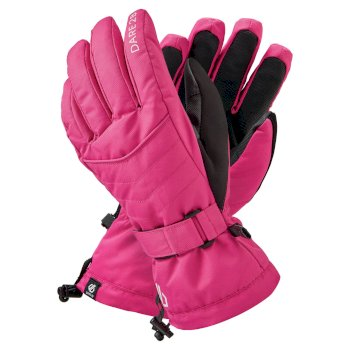 Dare 2b Women's Acute Waterproof Ski Gloves - Active Pink