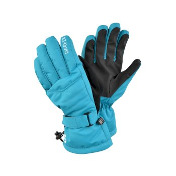 Dare 2b Women's Acute Waterproof Ski Gloves - Azure Blue