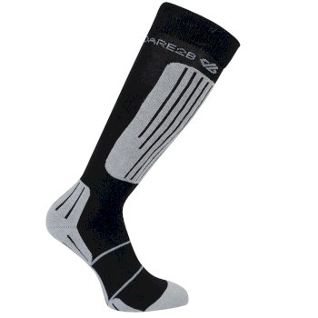 Dare2b Women's Sculpt Ski Socks - Black