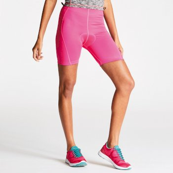 Dare 2b Women's Turnaround Cycle Shorts - Cyber Pink