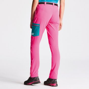 Dare2b Women's Appressed Trousers Cyber Pink/Shoreline Blue