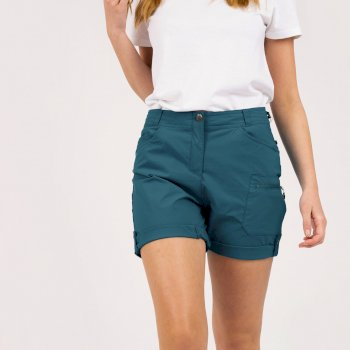 Melodic II Walkingshorts Mit vielen Taschen Für Damen Grün