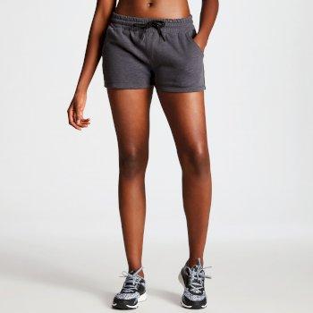 Resistance Damen-Shorts mit Tunnelzug grau