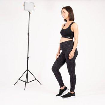 The Kate Ferdinand Edit - Maternity Influential Leggings - Black Molecular