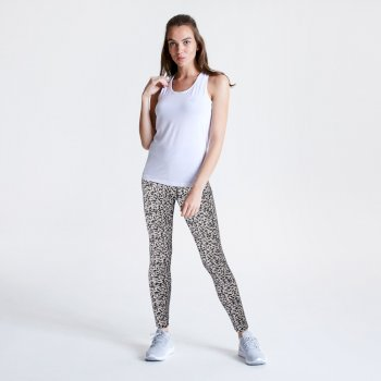 Influential Leggings für Damen Weiß