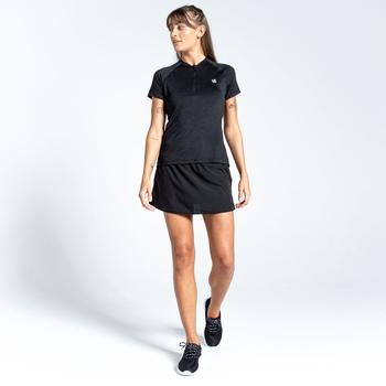 Kinetic Hosenrock für Damen Schwarz