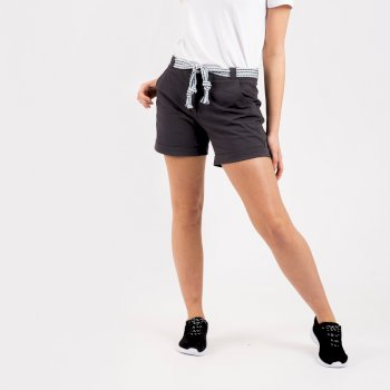Melodic Offbeat Shorts Für Damen Grau
