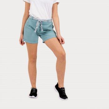Melodic Offbeat Shorts Für Damen Grün
