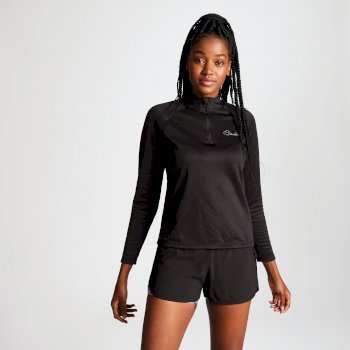 Dare2b Women's Loveline III Core Stretch Midlayer Black