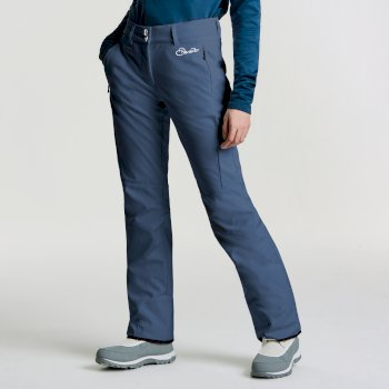 Dare2b Women's Rarity Luxe Softshell Ski Pants Blue Wing