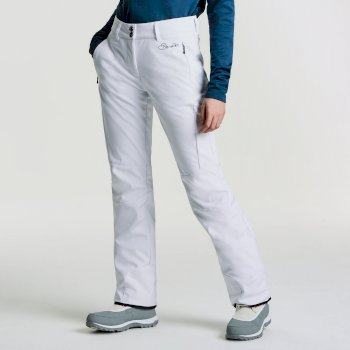Women's Rarity Luxe Softshell Ski Pants White