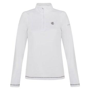 Lowline Core - Damen Midlayer-Shirt - Stretchstoff White