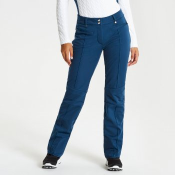 Clarity - Damen Skihose - luxuriös Blue Wing