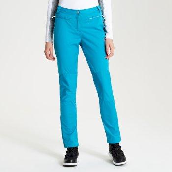 Appended - Damen Wanderhose Süßwasserblau