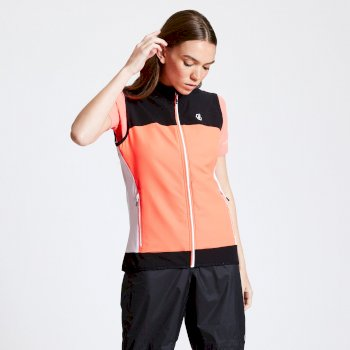 Duplicity Softshell-Weste für Damen Orange